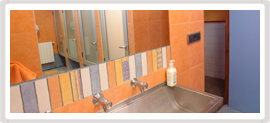 Les dutxes i lavabos